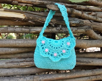 Crochet bag, crochet girl bag, crochet girl purse, crochet purse, girl bag, girl purse, baby crohet bag,baby bag, baby purse, toddler purse