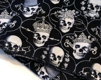 Royal gothic skull bandana