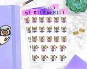 Plan'et' Cat  | Planner Stickers |