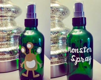 Essential Oil Monster Spray! Keep the Monsters Away with this Sleepy Linen Spray for Kids!