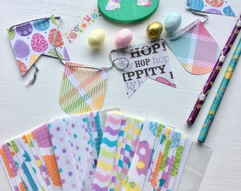 Easter Packs of Fabric Washi tape