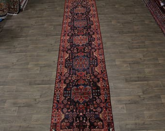 Wonderful Palace Size Runner Nahavand Persian Oriental Area Rug Carpet 3'6X16'6