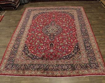 Amazing Traditional S Antique Kashmar Persian Rug Oriental Area Carpet 10X13