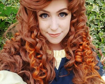 Merida Inspired Wig