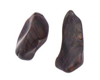 Obsidian Raw / 1 Mahogany Obsidian / Free Form / Tumbled Stones / Black Brown Stones / Utah Stone / Volcanic Gems / Raw Stone