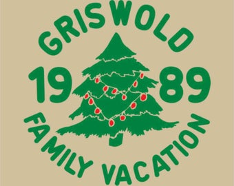 Griswold Christmas Vacation T-Shirt Transfer Instant Download & Print