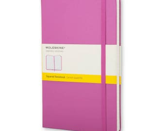 Pink Moleskine Squared Notebook - Pocket (A6) Size