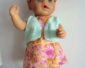 OUTFIT D SUMMER DOLL 43CM
