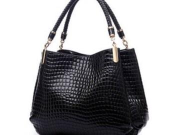 Alligator Leather Women Handbag/Shoulder Bag