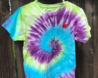 Colorful Swirl Tie Dye