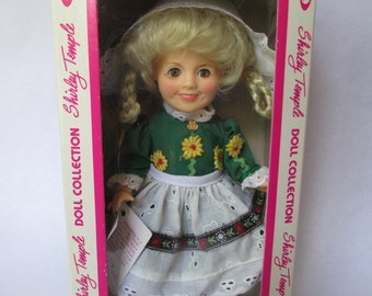 Vintage 1982 SHIRLEY TEMPLE Doll by Ideal NRFB - Dutch Costume