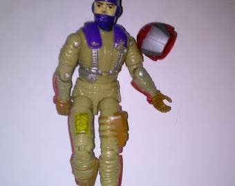 Vintage GI Joe Action Figure Grey-Viper***1980's-Early 1990's****** Check Out My other Listings