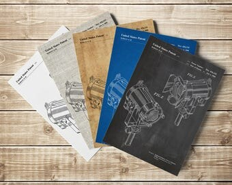 Set Lighting, Spotlights Print, Hollywood Printable, Set Lighting Print, Movie Room Printable, Cinema Wall Decor, Patent, INSTANT DOWNLOAD