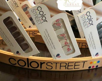 Be Colorful Custom Decal, Color Street decal, Color Street Setup Decal