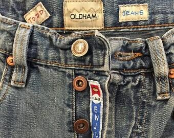 GOODBYE SUMMER SALE Vintage 90's Todd Oldham Denim Jeans; size 2