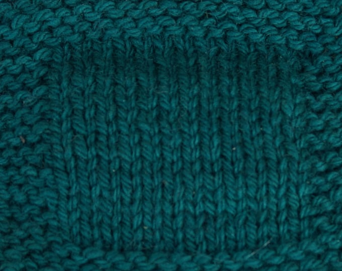 SPRUCE worsted weightl 3 ply kettle dyed soft wool yarn from our American farm