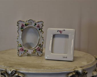 Ceramic Photo Frames Small