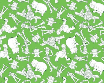 new disney fabric toy story fabric toy story characters outlines woody buzz lightyear with