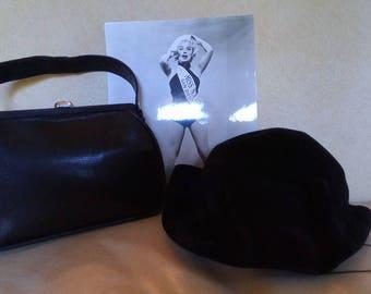 Bag Black lizard year 50s!