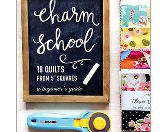 Charm School Book by Vanessa Goertzen of Lela Boutique. Charm book