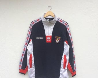 20% Off Vintage GENOA FC Kenwood Italian Football Windbreaker