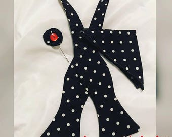 Bow Tie, Lapel, Pocket Handkerchief