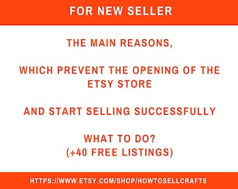 How to sell crafts  New seller Etsy store Sell on Etsy   Etsy shop Shophelp Etsy business Selling on etsy Etsy shop help Seller guide