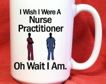 Medical Student Gift - Nurse Practitioner Gifts - Funny Medical Mug - Heart of A Nurse - Medical Gag Gifts - Medical School - Gift for NP