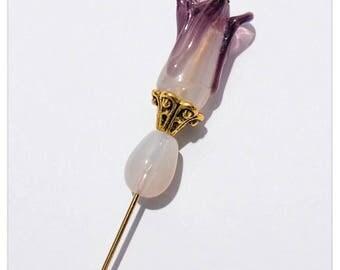 6 Inch Long Vintage Style Hat Pins~craftoholictamina