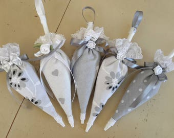 set of 5 Lavender umbrella