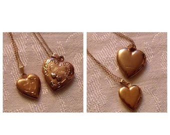 Anniversary Sale Mother and Daughter Vintage Lockets