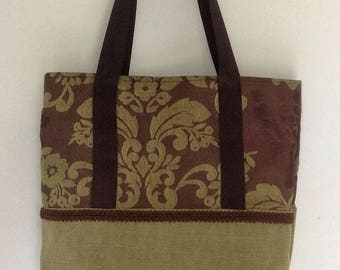 Tote bag two-tone spring summer collection