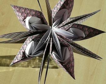 """Yayra"" origami flower"
