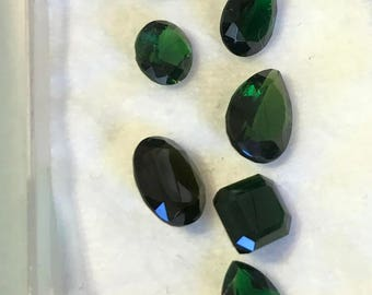 Chrome Tourmaline set - Green - 13.11
