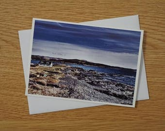 Scottish Landscapes Greetings Card - A6 - Western Shore of Easdale - Blank Card - Any occasion