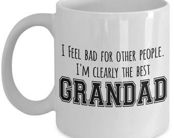 Father's Day Mug - Best Grandad - Funny Dad Gifts