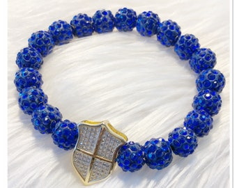 Blue Defense Bracelet