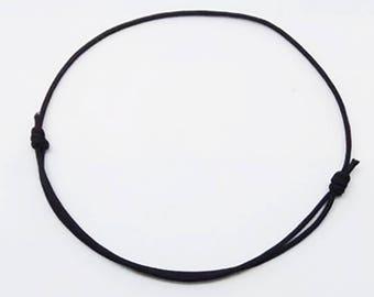 Black - lucky Bracelet - Kabbalah Creation of chip bracelet