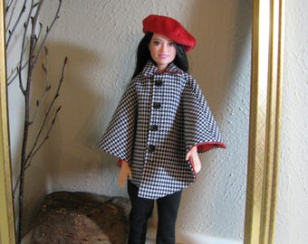 Barbie doll clothes-cape