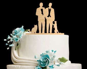 gay cake toppers for wedding cakes mr right mr always right pillowcases personalized 4452