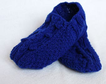 Knit Slippers for Women Warm house slippers Hand knitted socks Slipper socks Gifts Women Slippers Warm indoor slippers Knit Socks Wool