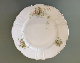 Vintage China Floral Plate / Made in Germany