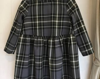 Wool tartan Dress