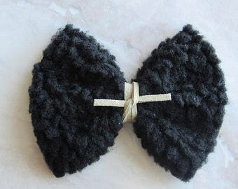 Black Sherpa furr bow