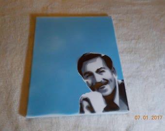 Walt Disney Spray Paint Art