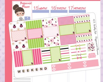 Fits SMC inserts -- Love Bug Weekly Set #03