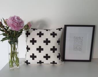 "Cushion cover ""Swiss Cross"""