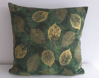 "Cushion cover ""Golden Leaves"""