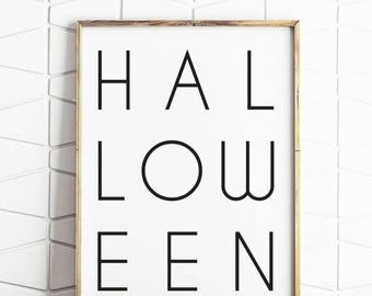 80% OFF Halloween wall art, instant download Halloween decor, Halloween printable, Halloween decor, Halloween wall prints