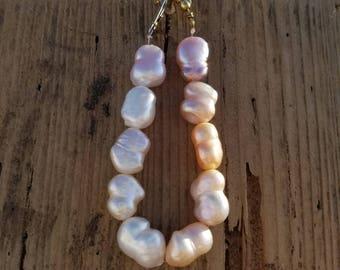Tarpon (nugget shaped Freshwater pearl bracelet)